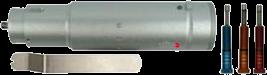 KCT [Einsatzhülse 40 für Tz-Modul zum Folienschneiden] (Schneidkraft mittels Feder einstellbar)