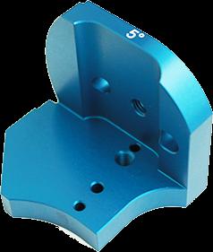 VCT [Halter, 5°, blau, V-Cut]