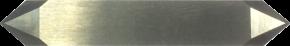 K12a Ziehmesser, flacher Schaft